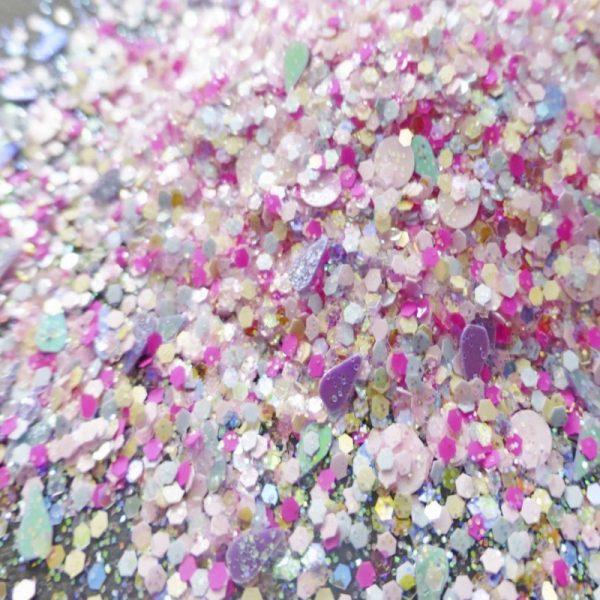 Bubblegum glitter mix