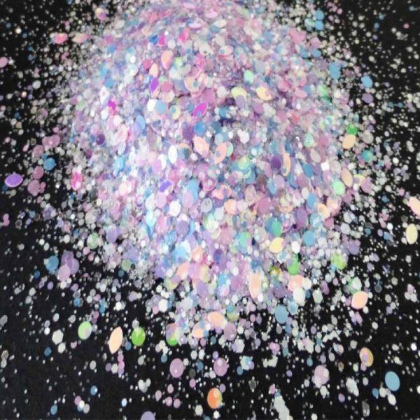 Infinity glitter mix