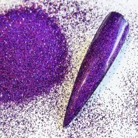 purple holographic 008