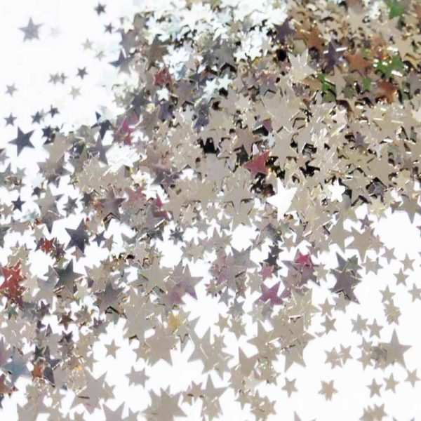 champagne star shapes