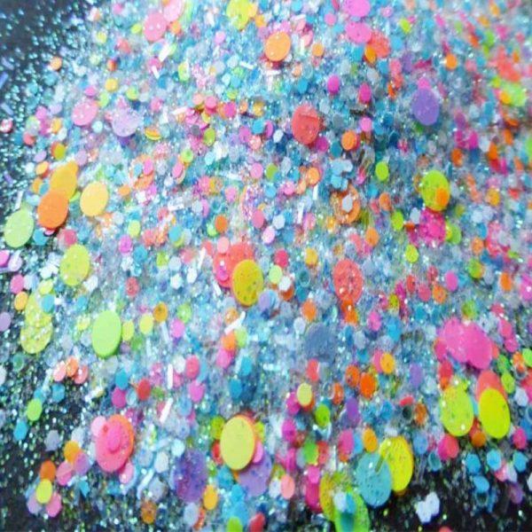 hubba bubba glitter mix