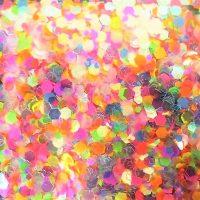 Neon Festival glitter mix