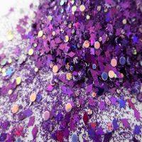 Purple Diamond Cluster Holographic