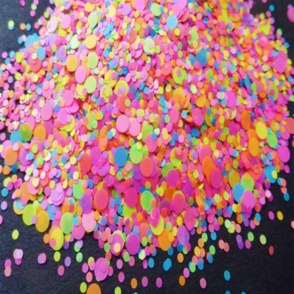 Neon Zapped Dot Mix