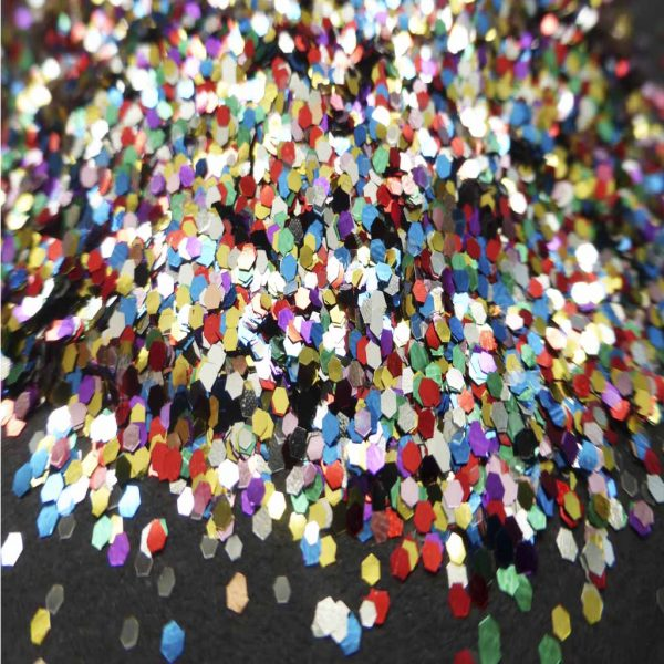 Multicoloured Metallic 040