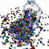 Multicoloured holographic Butterflys