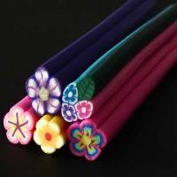 Fimo Canes Flowers Set D