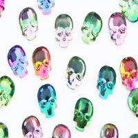 ab chameleon skull crystals