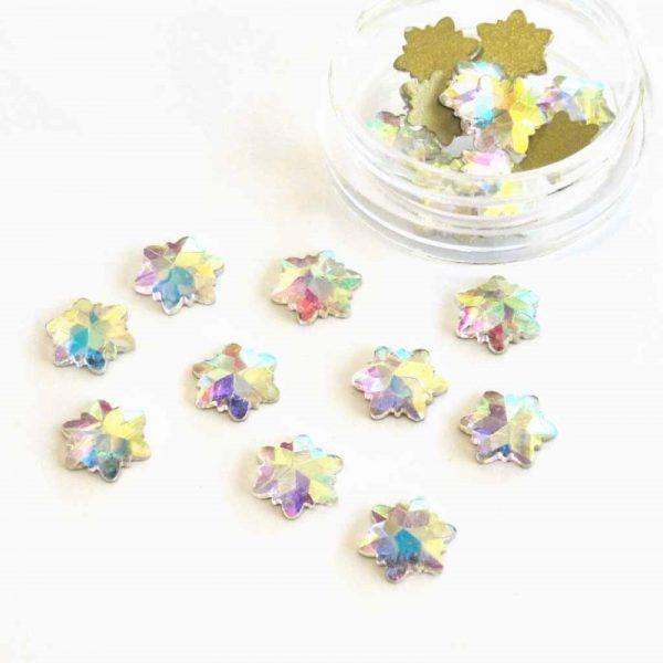ab snowflake crystals
