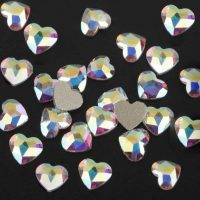 ab heart crystals