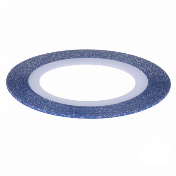 Blue Glitter Striping Tape