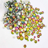 AB peardrop crystals
