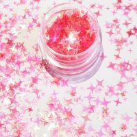 Mermaid Infinity Pink Stars
