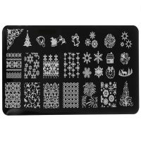 Christmas Stamping Plate Design 1