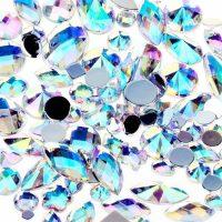 ab crystal scrylic jewel gems