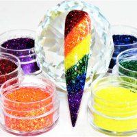 Gay Pride Festival Glitter Set