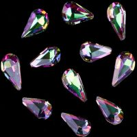 teardrop ab chameleon crystals