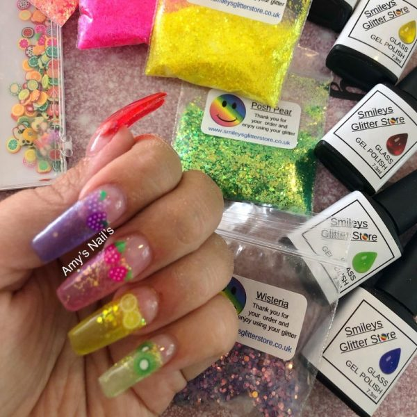 Glass Gel Polish Jelly Nails 11 Colour Choices