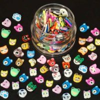 Fimo animal slices