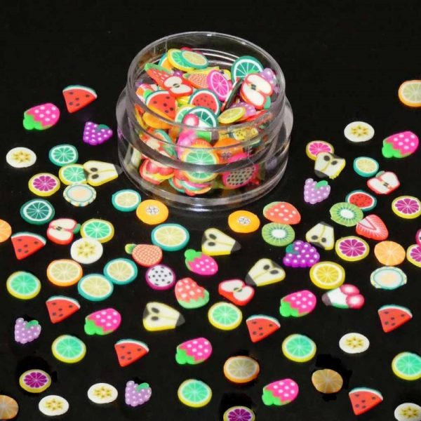 fimo fruit slices