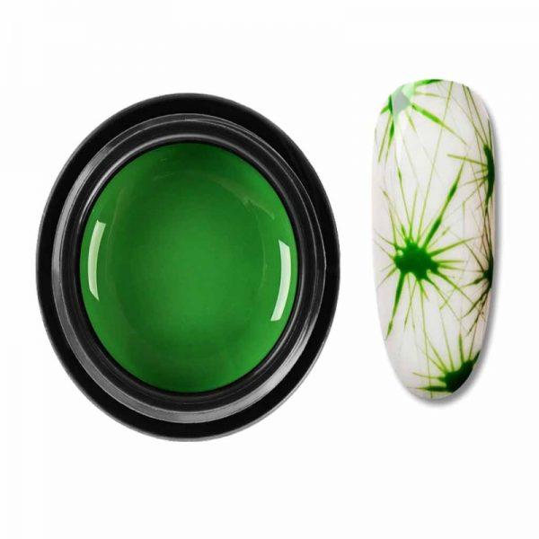 Green spider gel