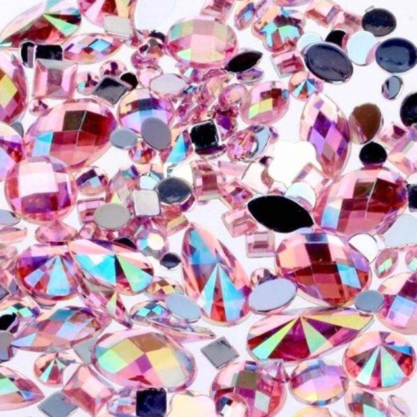 Light Pink AB Jewel Gems