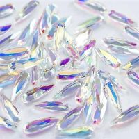 AB Clear waterdrop crystals