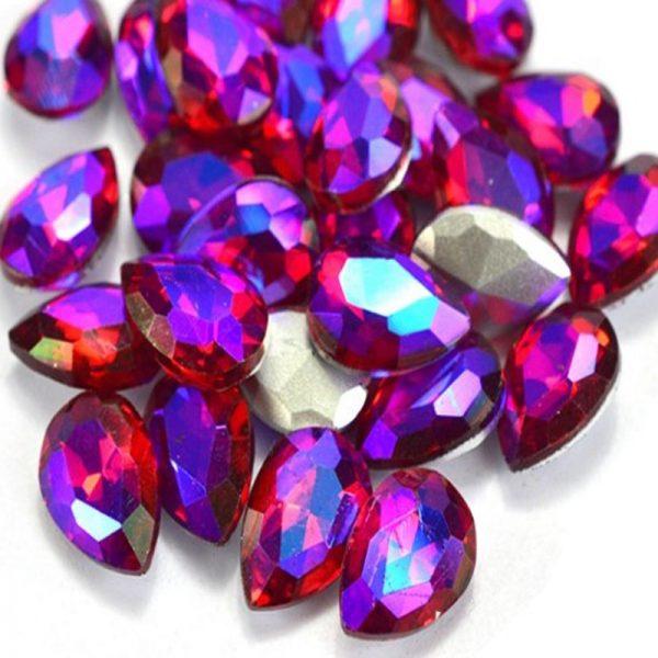 AB Flame Rhinestone crystals
