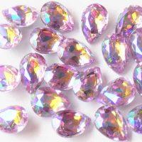 AB Lilac Rhinestone crystals