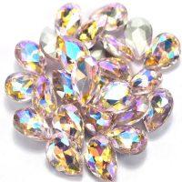 AB Pink Rhinestone Crystals