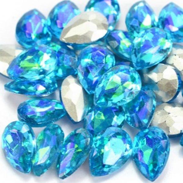 AB Turquoise Rhinestone crystals
