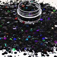Black holographic dot mix