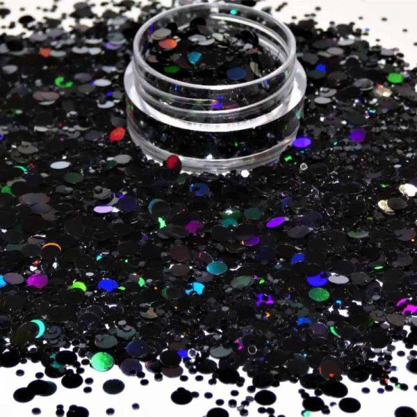 Black holographic dot mix