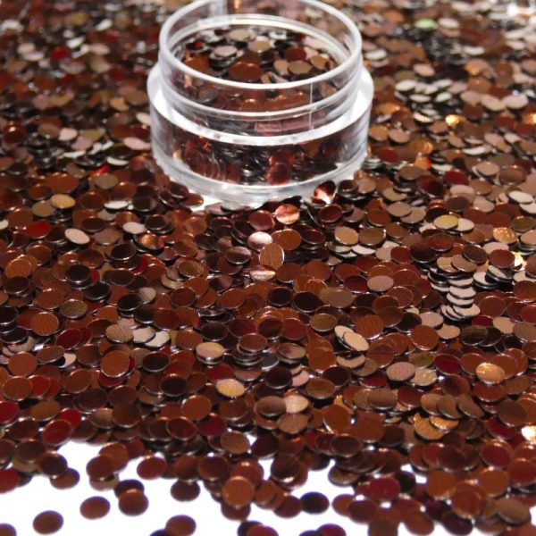 chocolate metallic dots