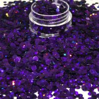 Dark Purple Holographic Dots 3mm Size