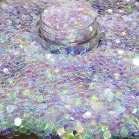 Lavender Iridescent Dot 3mm