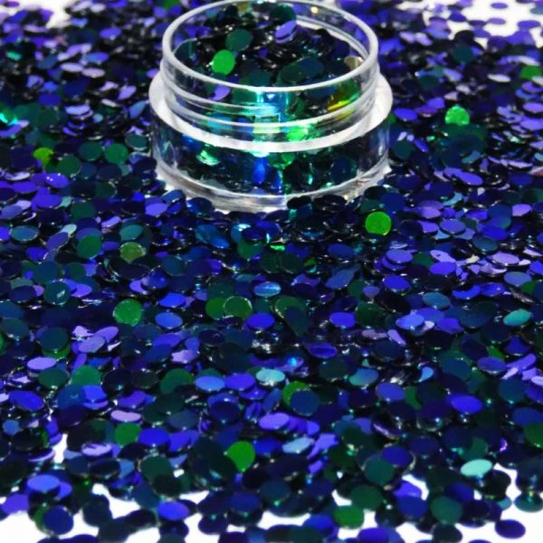 Peacock Chameleon Dots 3mm
