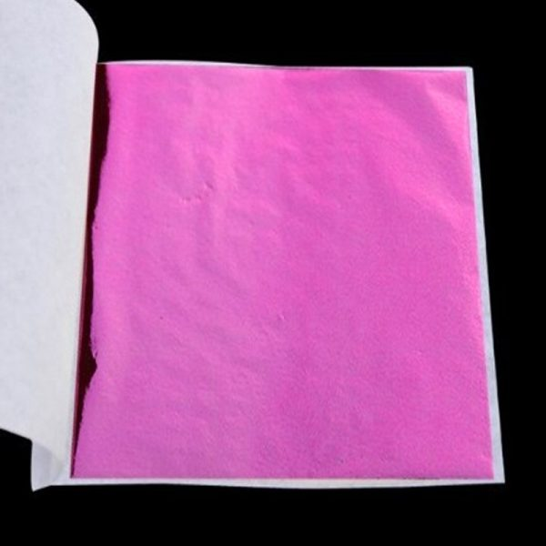 Pink Leaf Sheet