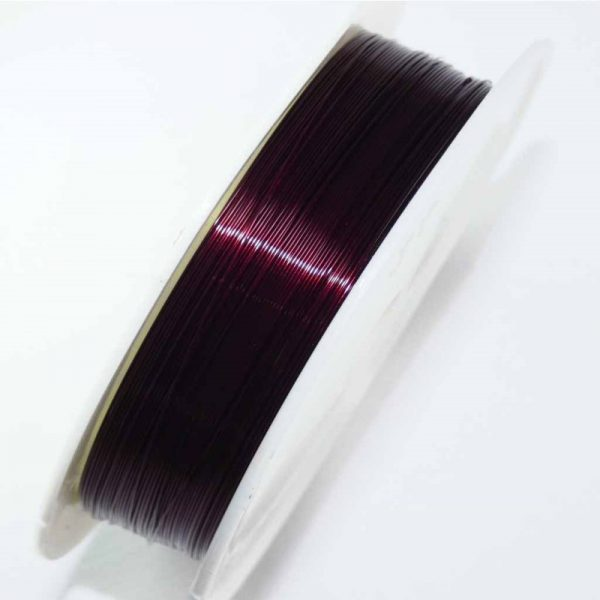 Burgundy Wine cutting wire