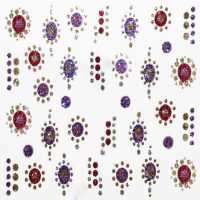 Design 11 Glitter Sticker Pattern