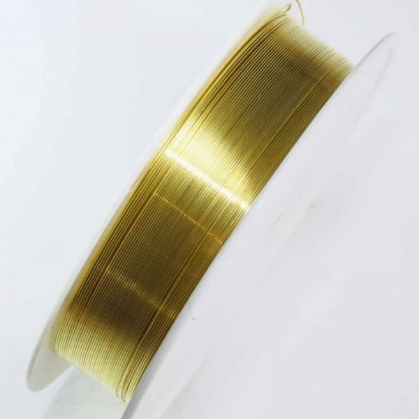 Gold cutting wire