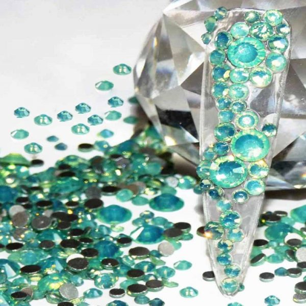 Green Opal Crystals