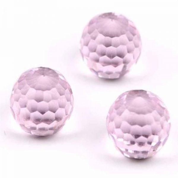 Pink Crystal Ball 6mm