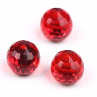 Red Crystal Ball 6mm