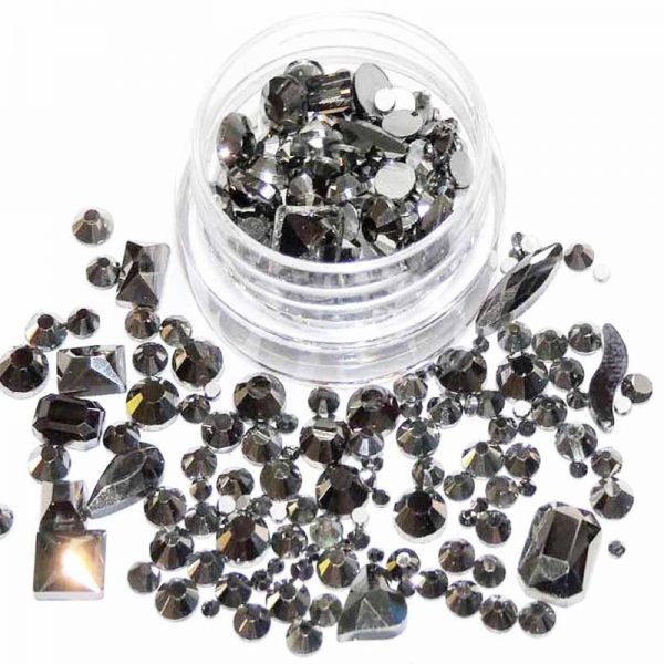 Hematite Crystal Rhinestones And Shapes