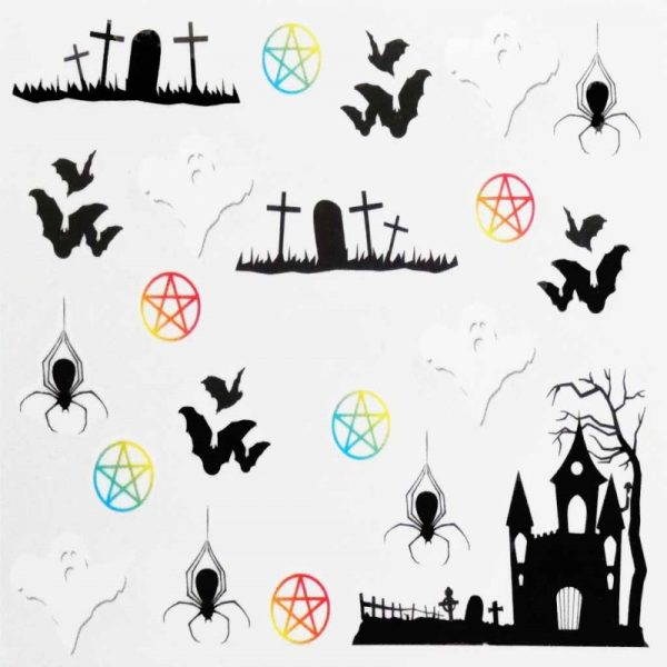 Halloween Water Decal A1111