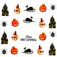 Halloween Water Decal A1112
