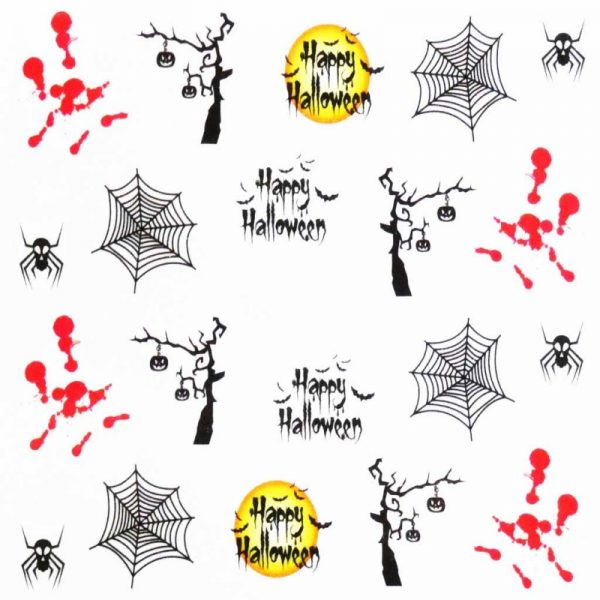 Halloween Water Decal A1113