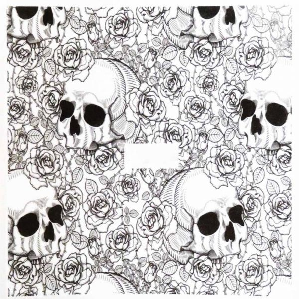 Halloween Water Decal A1115