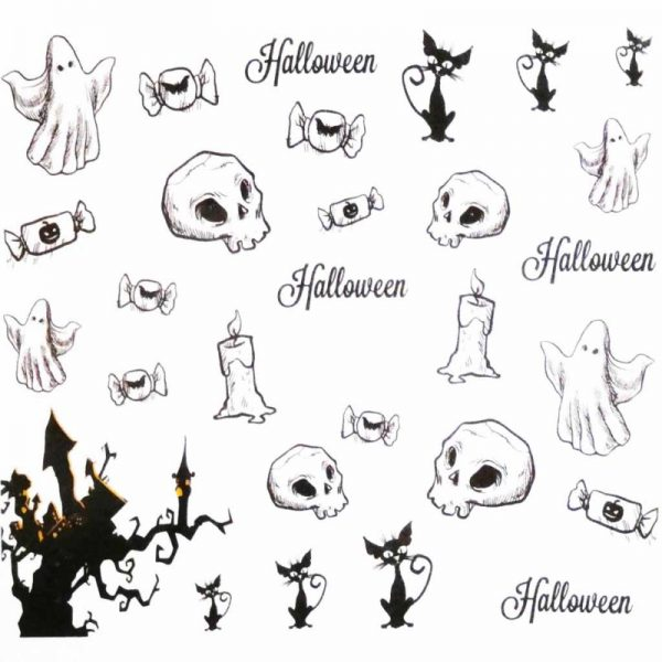 Halloween Water Decal A1116